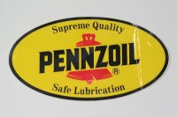 PENNZOIL-4【ステッカー】