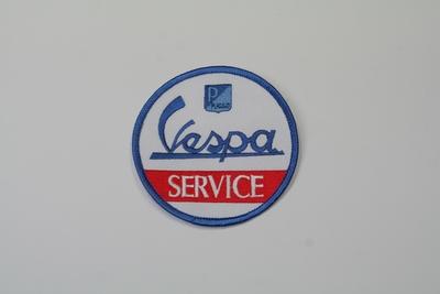 画像1: Vespa SERVICE ワッペン