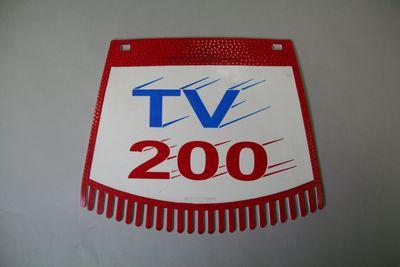 画像1: リアフラップ(Ken Cobbing Ltd.) 【TV200/レッド】 *NOS品