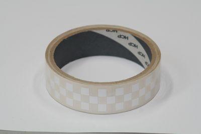 画像1: チェッカーテープ(ホワイト)【フィルムテープ】