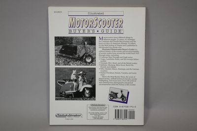 画像2: MOTOR SCOOTER BUYERS GUIDE【洋書】 *NOS品